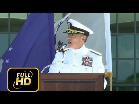 WATCH: Admiral Harry B. Harris, Jr., USN Speech at Pacific Warfare Center Dedication May 31, 2017.