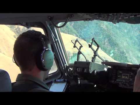 USAF Boeing C17 Globemaster III LowLevel Flight Down The Coast