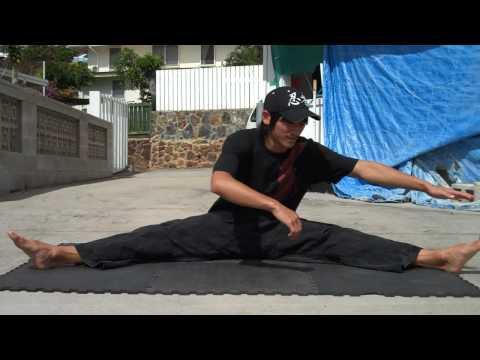 Some Basic Leg Stretches
