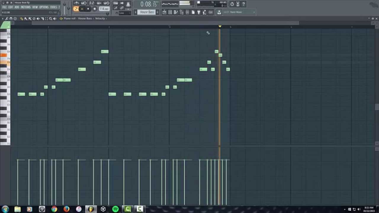 How to make a house beat on fl studio 12 flp 2015 for House music maker