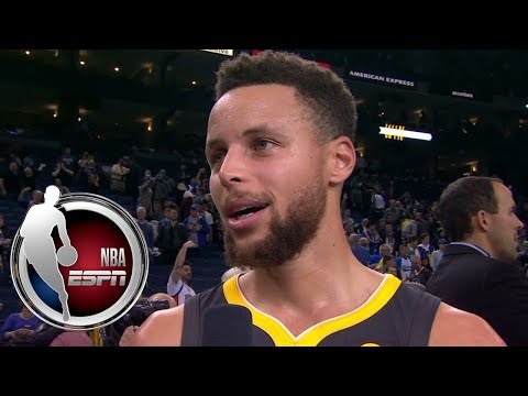 Steph Curry: We sent a message. We're still tough, we're still the team to beat. | ESPN