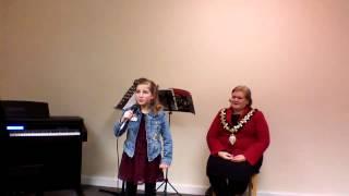 9 year old K sings Paloma Faith