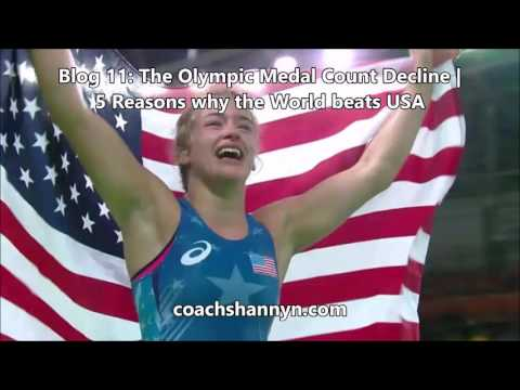 Blog 11: The Olympic Medal Count Decline | 5 Reasons why the World Beats USA