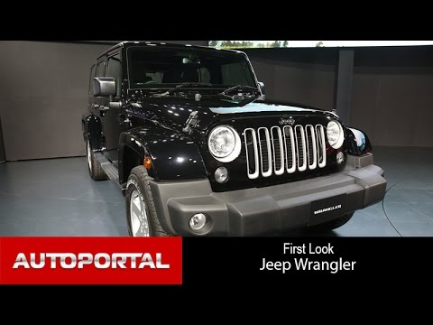 Jeep Wrangler FIrst Look - AutoPortal