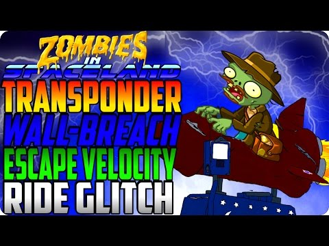 Zombies In Spaceland Glitches - New Transponder Wall-Breach Inside Merry Go Round - IW Glitches