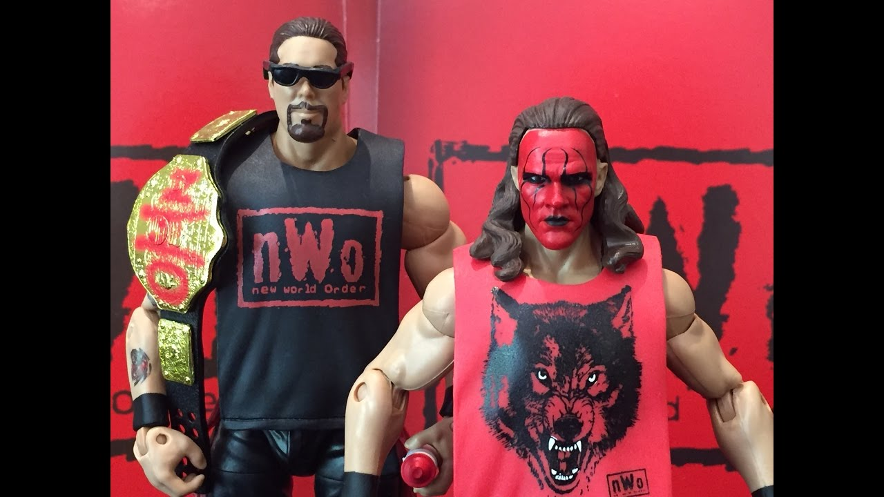 WWE Wrestling Mattel Elite Hall of Fame Exclusive Kevin Nash Figure NWO Wolfpac