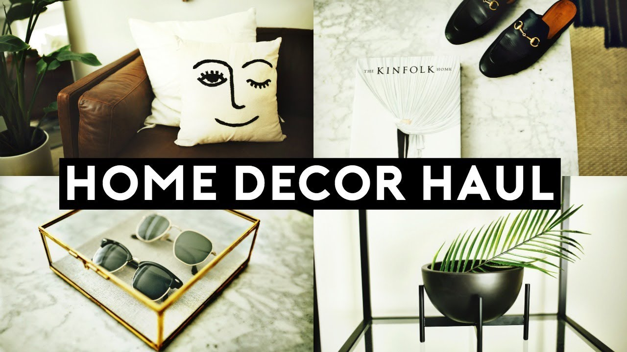 new home decor haul 2018 tumblr inspired nastazsa