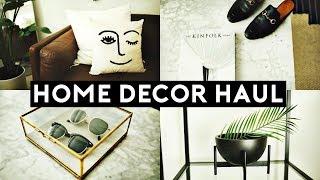 NEW HOME DECOR HAUL (2018) Tumblr Inspired | Nastazsa