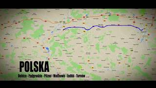 439 - Dębica - Podgrodzie - Pilzno - Machowa - Ładna - Tarnów / Driving through Poland