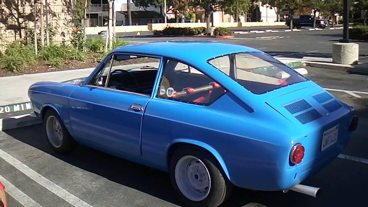 Fiat 850 Coupe Nice Dual Engine Sounds Youtube