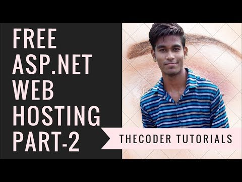 Free ASP.NET Web Hosting Full Tutorial In Hindi Part 2