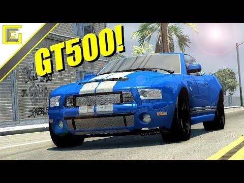 SHELBY GT500 I BeamNG Drive Crashes #1534 [Alpha]