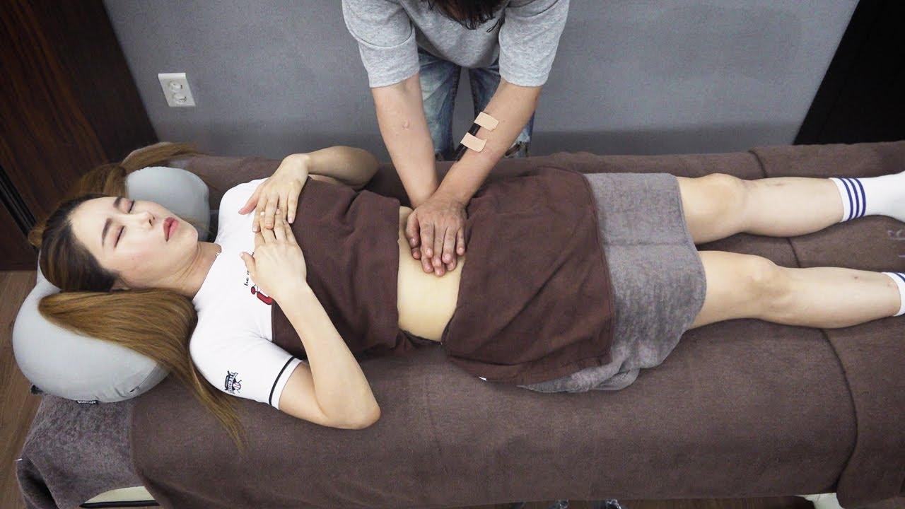 Massage original sound 복부마사지 Abdominal massage