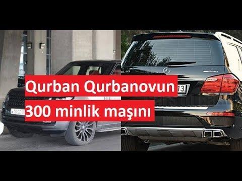 Qurban Qurbanovun 300 minlik maşını