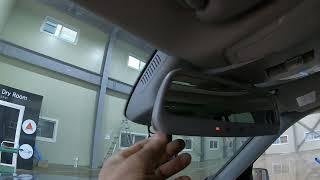 벤츠 GLK 220 CDI 차량의 하이패스룸미러 카드인…