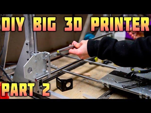 DIY Big 3D Printer - Assembling a Frame - Part 2/3