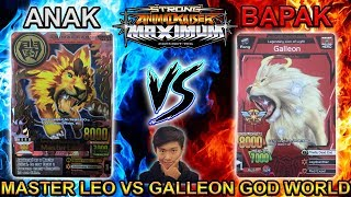 MASTER LEO VS GALLEON !!! AYAH VS ANAK !!! - STRONG ANIMAL KAISER MAX 4 #14
