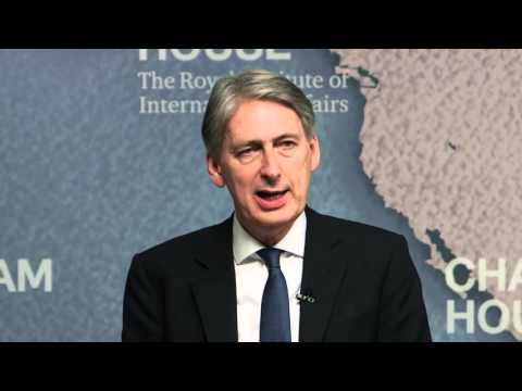 Event Speech: Philip Hammond: What Do the Alternatives to EU Membership Look Like?