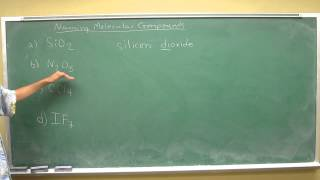 Naming covalent compounds 005