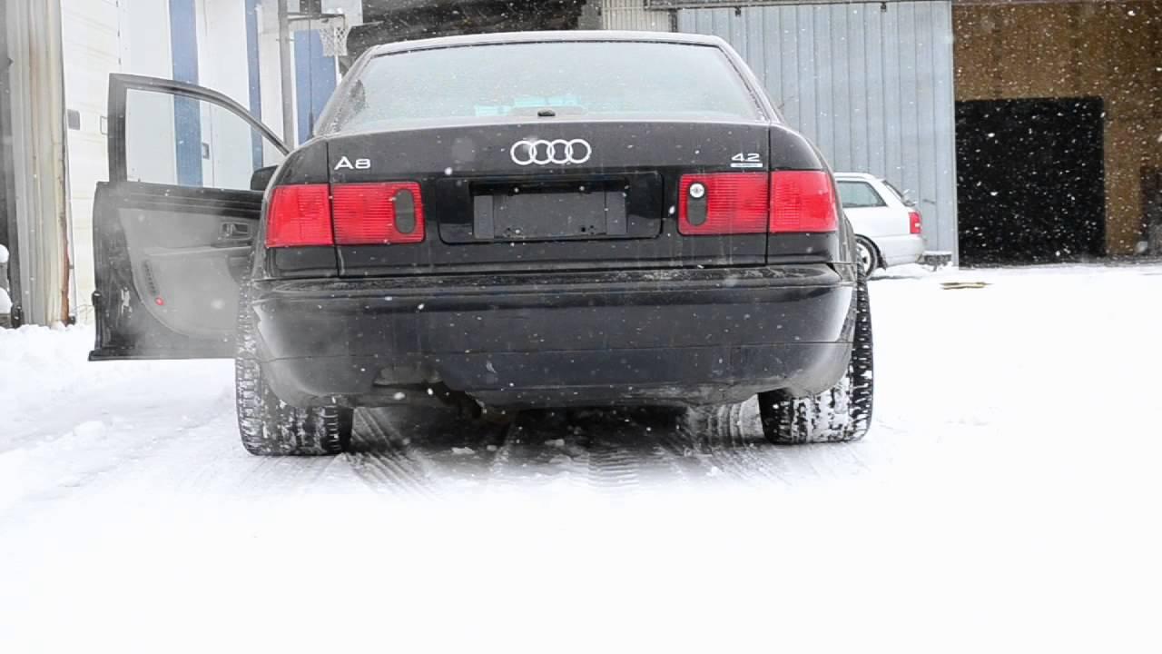 Audi D2 A8 4 2 Muffler Delete Youtube
