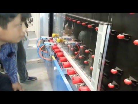 the insulating glass machine video of blinds JINAN WEILI MACHINE CO ,LTD,CHINA  20141017