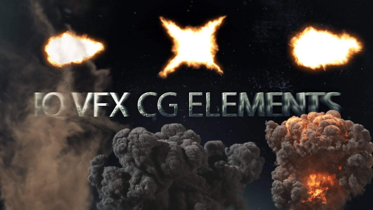 IQVFX CG Elements: vfx assets and a stock footage pack for after effects