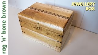 Jewellery Box made from pallet wood (part 1 of 3)