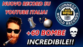 NUOVO RECORD ITALIANO IN SQUAD - HACKER SCOPERTO IN LIVE su Fortnite Battle Royale! | Original ale