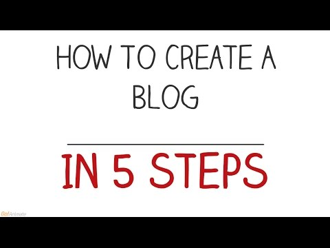 How To Create A Blog In 5 Steps - Wordpress 2015