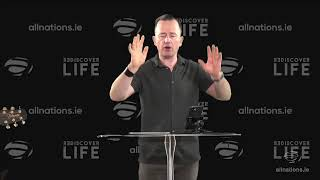 """Be a positive Person!"" - Pastor John Ahern - All Nations Church Dublin"
