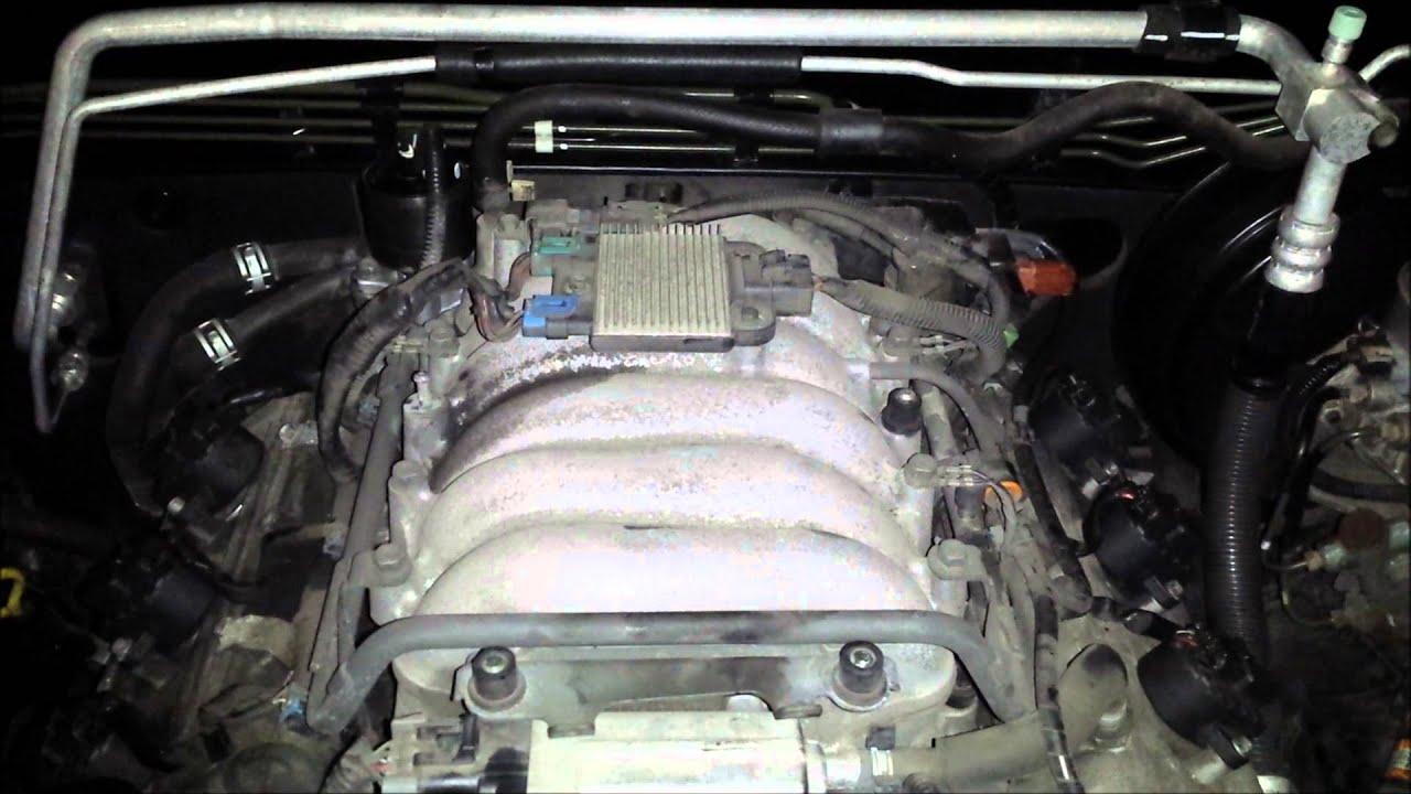 2002 isuzu trooper engine noise youtube