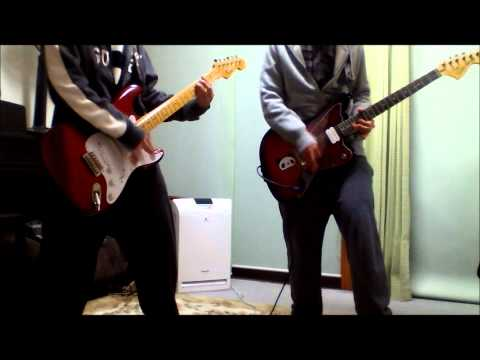 RADWIMPS DUGOUT ギター 2人で弾いてみた。