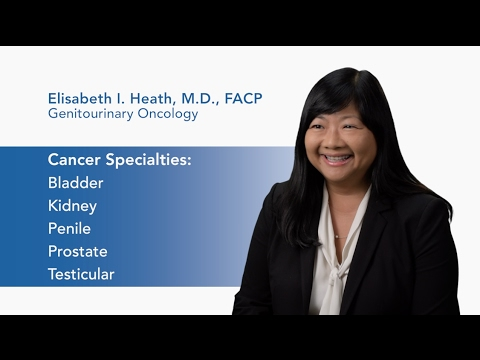Meet Dr. Elisabeth Heath - Genitourinary Oncology video thumbnail
