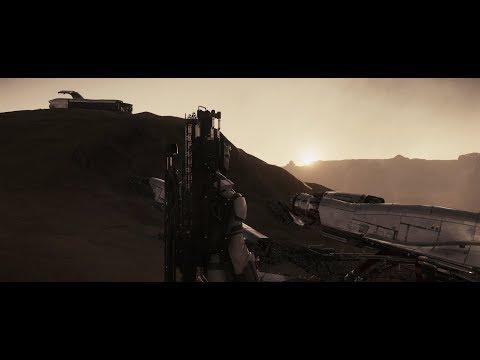 Star Citizen 3.0 af - Mission: Crashed Starfarer - Road to sell Cargo - 4K Ultrawide