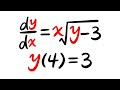 Existence & Uniqueness Theorem, Ex1