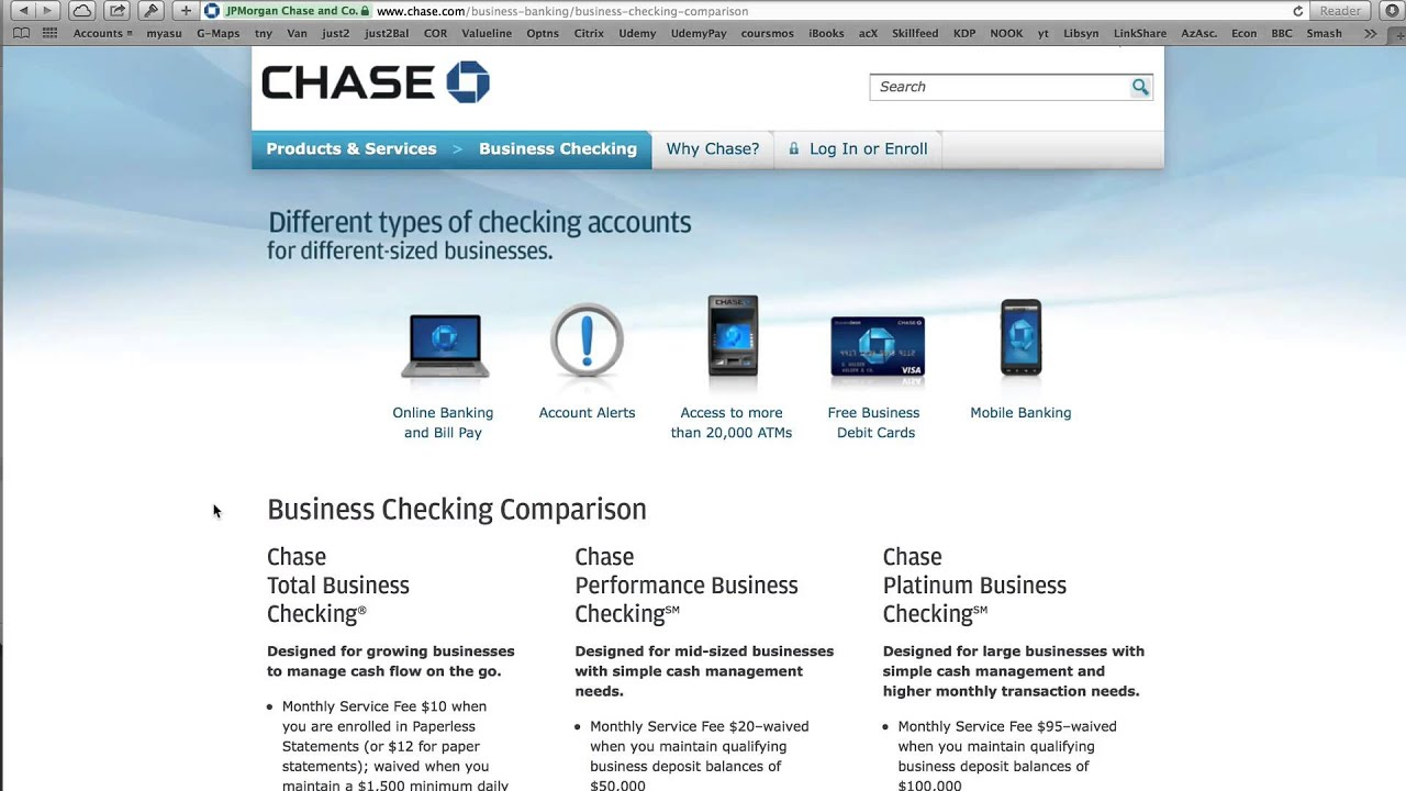 Chase Bank is offering a few targeted promotions to earn from $ to $ in bonus cash when you open a Chase business checking account. You can either earn $ with a Chase Performance Business Checking account or $ with a Chase Total Business Checking account.