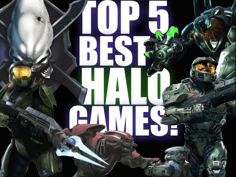 Top 5 HALO GAMES!