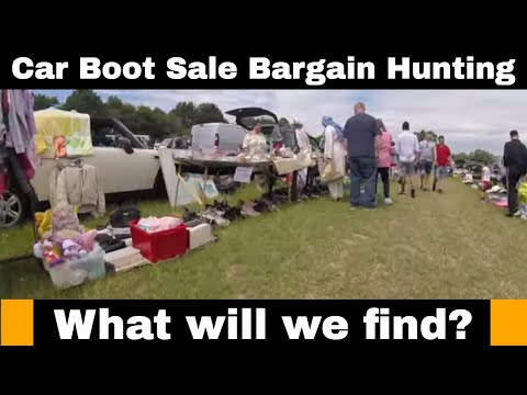 Car Boot Sale Bargain Hunting - GoPro Footage - What will we find? from YouTube · Duration:  17 minutes 42 seconds