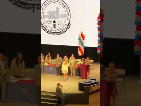 Yorba Linda High School 10th Grade Academic Award 2018