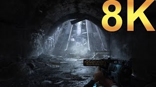 Metro 2033 Redux 8K v2 High Settings Gameplay High Resolution PC Gaming 4K | 5K | 8K and Beyond