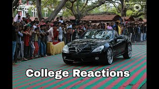 College Reactions To SUPERBIKES - INDIA !!! BRUTAL REVS