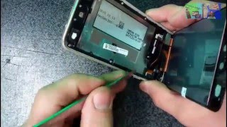 SAMSUNG A3 Замена модуля дисплея LCD + TOUCHSCREEN replacement