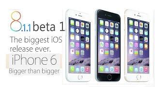 iOS 8.1.1 beta 1 Экспресс обзор. Тормозит или нет iOS 8.1.1 beta 1 на iPhone 6 ?(, 2014-11-10T13:11:31.000Z)
