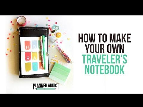 DIY Midori: Traveler's Notebook- Start to finish!