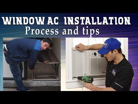 How To Install Window AC Easy Way