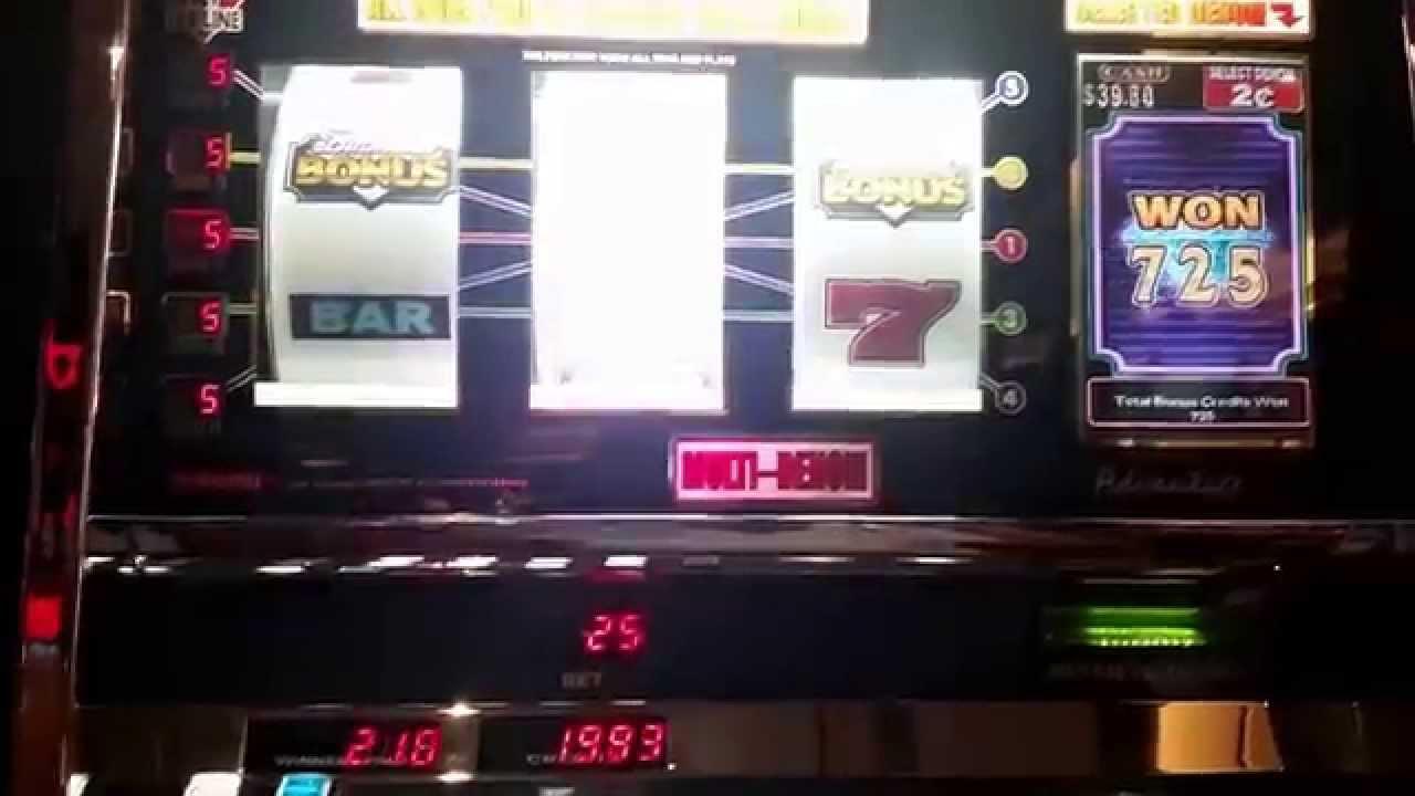 2015 slot machine winners