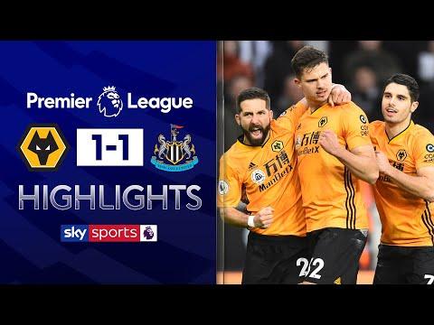 Dendoncker cancels out Almiron's opener | Wolves 1-1 Newcastle | Premier League Highlights