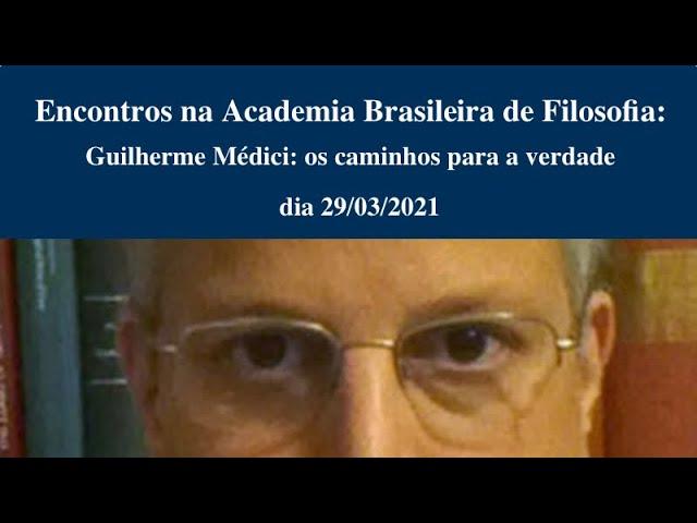 Guilherme Wyllie Médici: os caminhos para a verdade