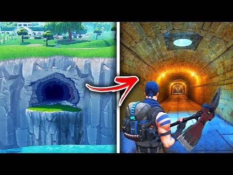 Top 5 Secret Hidden Locations in Fortnite YOU NEVER KNEW!