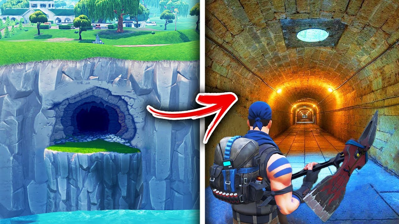 Top 5 Secret Hidden Locations In Fortnite You Never Knew Youtube